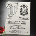 Chiseled Column Plaque Sales Awards