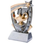 3D Resin Knowledge Scholastic Trophy Awards
