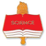 Science Lapel Pin Scholastic Trophy Awards