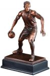 Basketball Signature Black Resin Trophy Awards