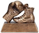 Boxing Resin Signature Gold Resin Trophy Awards