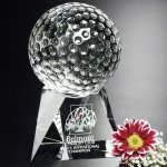 Triad Golf Award Sport Crystal Awards