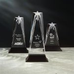 Star Tower Star Acrylic Awards