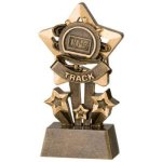 Track Star Resin Star Back Resin Trophy Awards