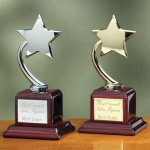 Shooting Star on Piano Finish Base Star Cast Awards