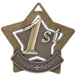 1st Place Star Gold Star Medal Awards