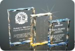 Scalloped Edge Plaque Acrylic Award Traditional Acrylic Awards