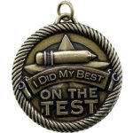 Did My Best On Test Value Medal Awards