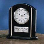 Black Piano Finish Wood Wood Metal Accent Awards