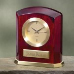 Piano Finish Wood & Brass Wood Metal Accent Awards